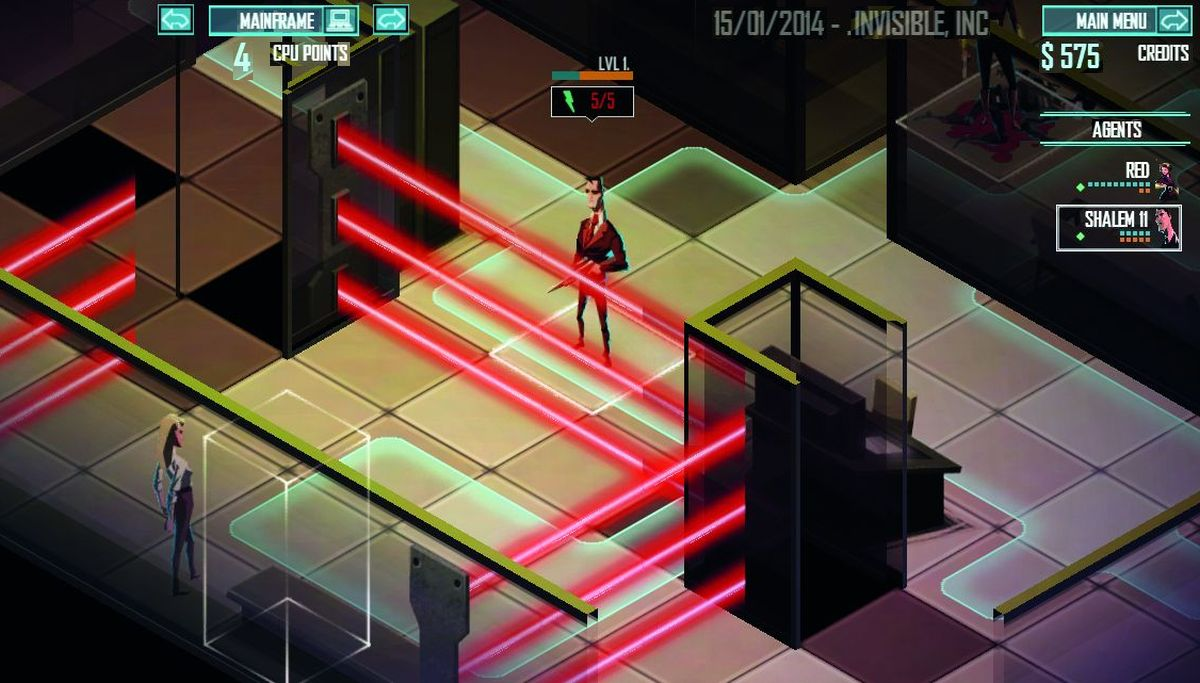 Скачать Invisible Inc для PC бесплатно