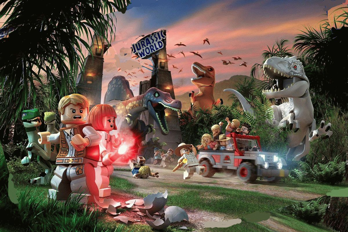 Скачать LEGO Jurassic World для PC бесплатно