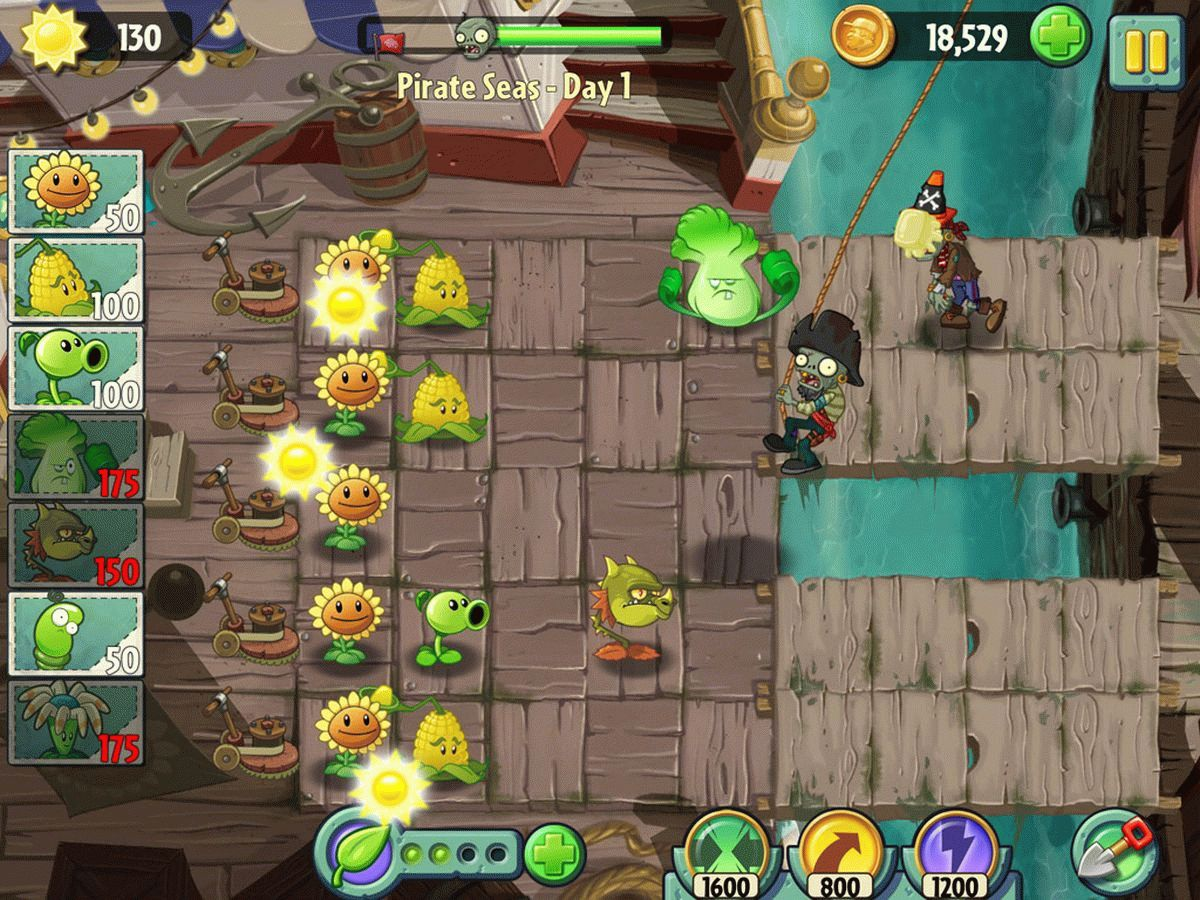 Скачать Plants vs Zombies 2 для PC бесплатно