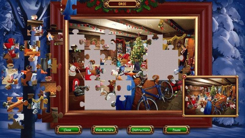 Скачать The Ultimate Christmas Puzzler для PC бесплатно